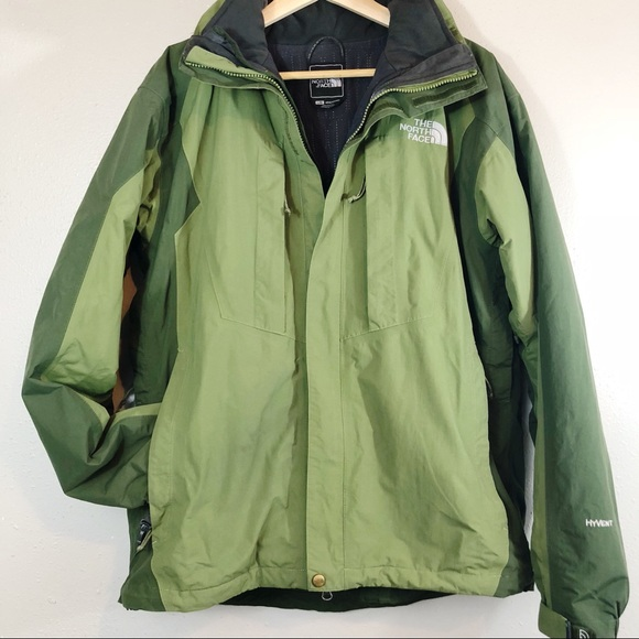 350722575 sale north face green ski jacket 1871a 7f371